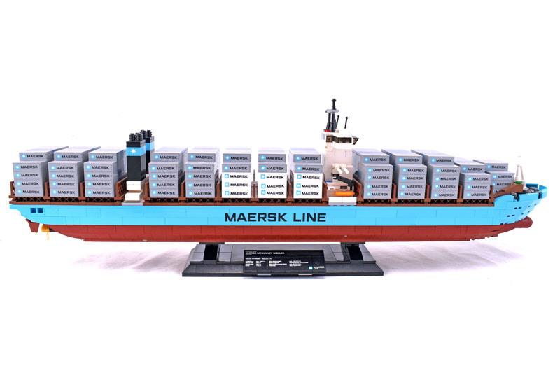 Maersk Line Triple-E - LEGO set #10241-1