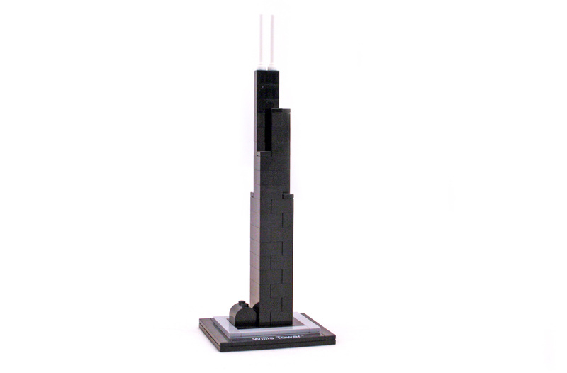 Willis Tower - LEGO set #21000-2