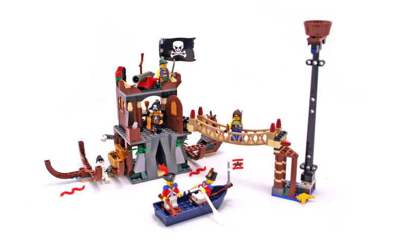 Shipwreck Hideout - LEGO set #6253-1
