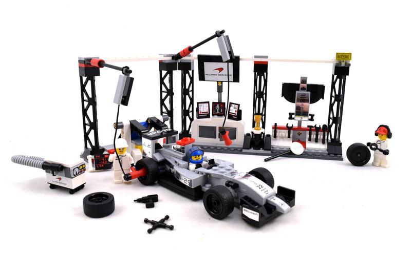 McLaren Mercedes Pit Stop - LEGO set #75911-1