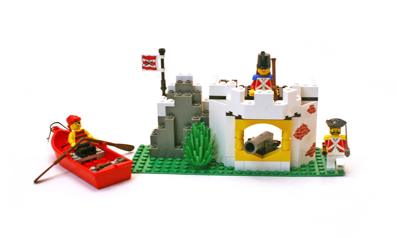 Cannon Cove - LEGO set #6266-1