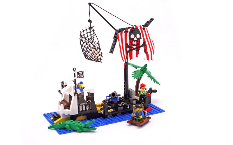 Shipwreck Island - LEGO set #6296-1