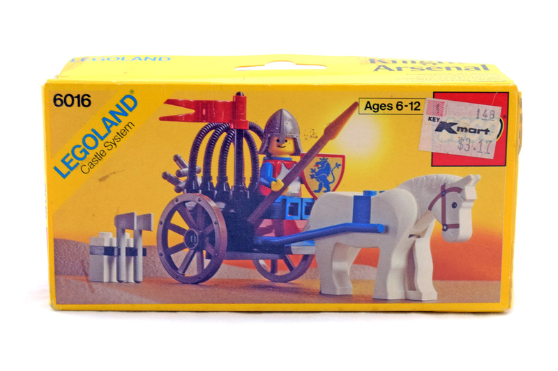 Knights' Arsenal - LEGO #6016 - New In Box