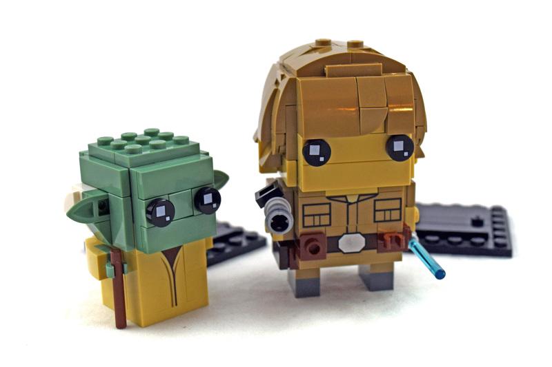 Luke Skywalker & Yoda - LEGO set #41627-1
