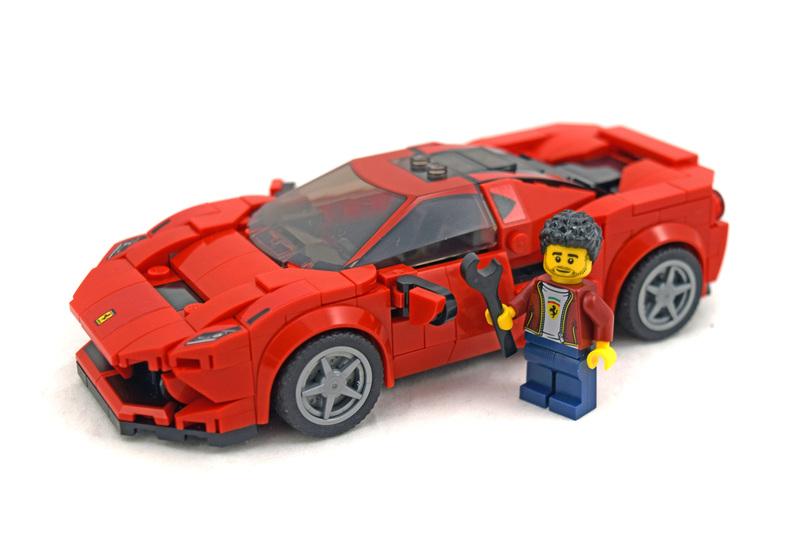 Ferrari F8 Tributo - LEGO set #76895-1
