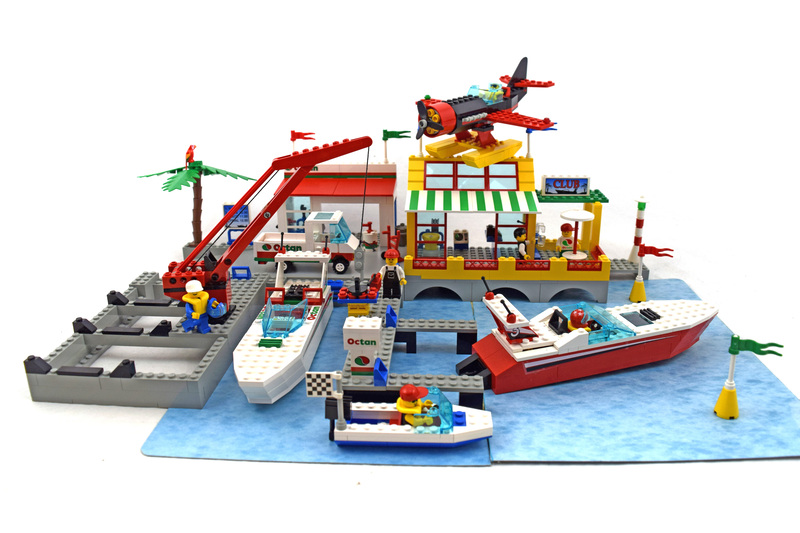 Sail N' Fly Marina - LEGO set #6543-1