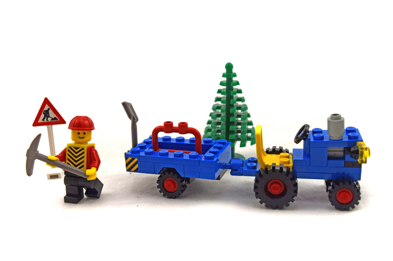 Highway Repair - LEGO set #6647-1