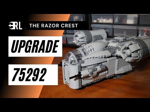 Upgrading the LEGO Razor Crest