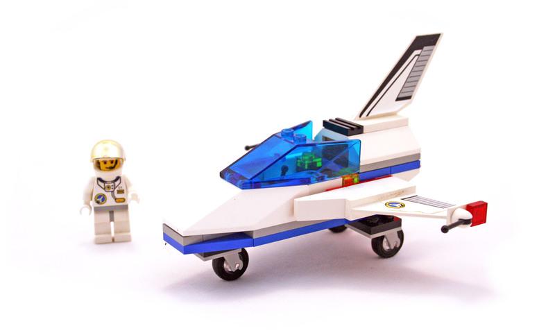 Space Port Jet - LEGO set #6465-1