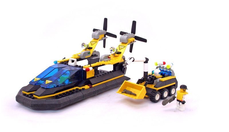 Res-Q Cruiser - LEGO set #6473-1