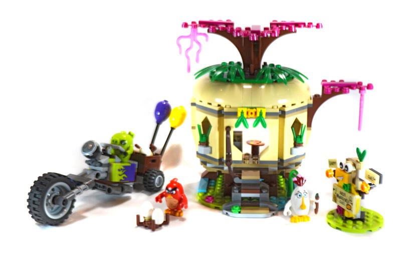 Bird Island Egg Heist - LEGO set #75823-1