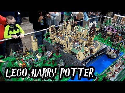 Huge LEGO Harry Potter World – Diagon Alley, Hogwarts, Train & More!