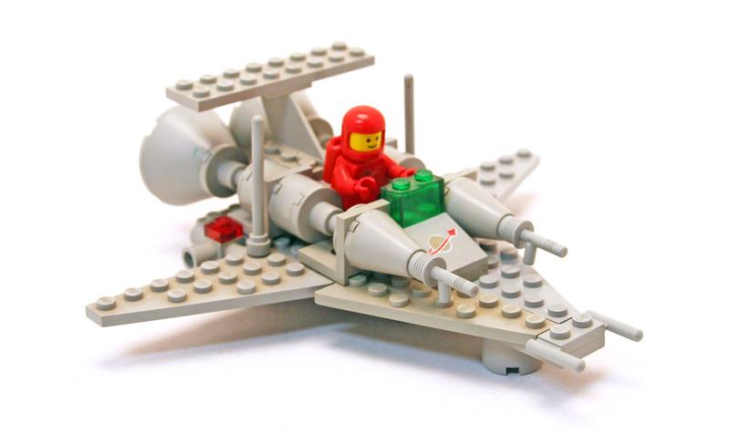X1 Patrol Craft - LEGO set #6861-1