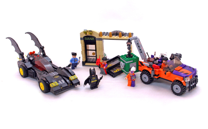 The Batmobile and the Two-Face Chase - LEGO set #6864-1