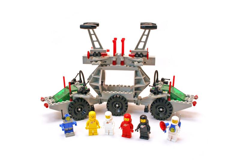 Solar Power Transporter - LEGO set #6952-1