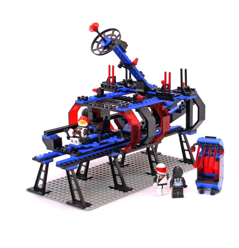 Space Lock-Up Isolation Base - LEGO set #6955-1