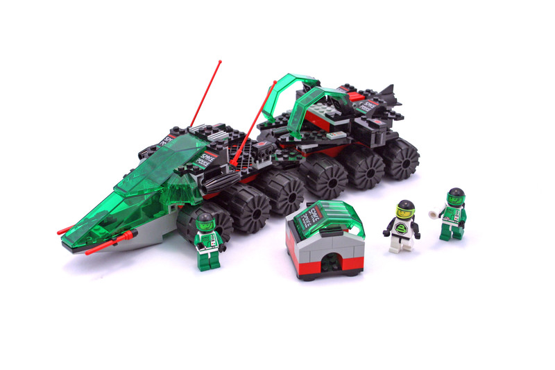 Lego Space Police  Building Instructions