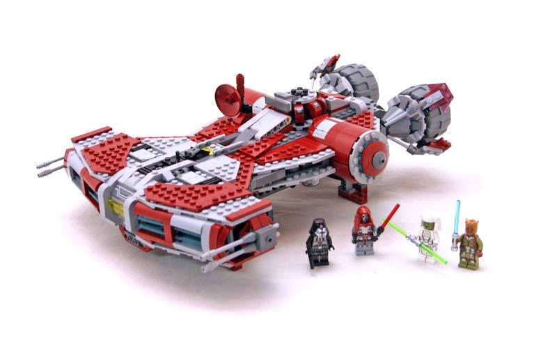 Jedi Defender-class Cruiser - LEGO set #75025-1