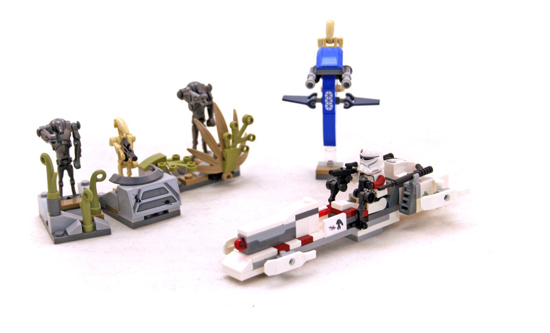 Battle on Saleucami - LEGO set #75037-1