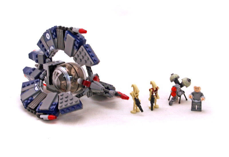 Droid Tri-Fighter - LEGO set #75044-1