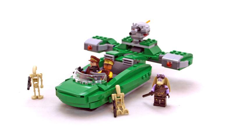 Flash Speeder - LEGO set #75091-1