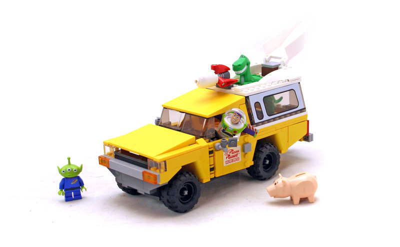 Pizza Planet Truck Rescue - LEGO set #7598-1