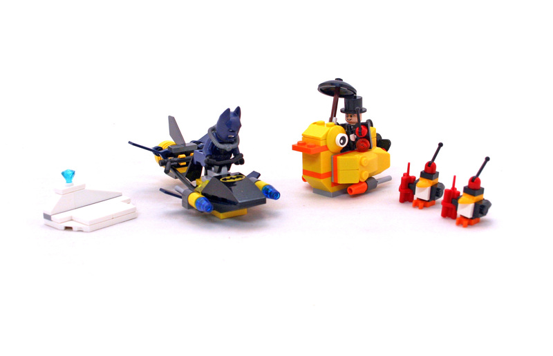 Batman: The Penguin Face off - LEGO set #76010-1