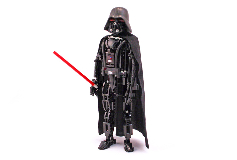 Darth Vader - LEGO set #8010-1 (Building Sets > Star Wars)