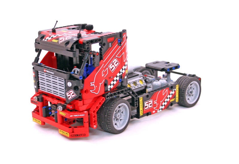 lego technic race truck 8041 instructions
