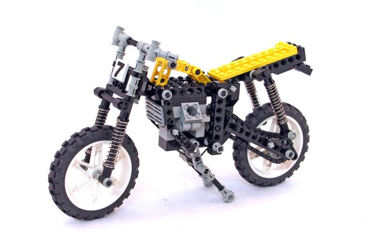 Shock Cycle - LEGO set #8838-1