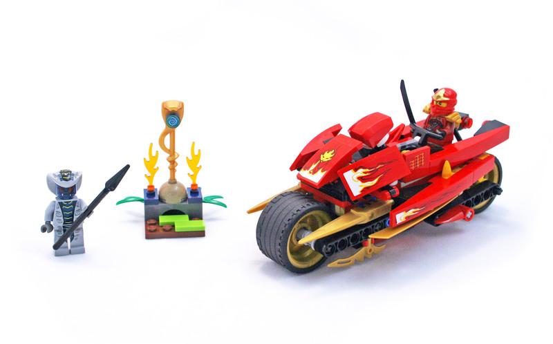 Kai's Blade Cycle - LEGO set #9441-1
