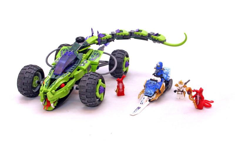 Fangpyre Truck Ambush - LEGO set #9445-1