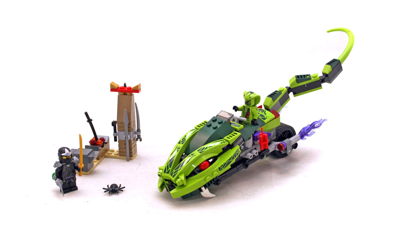 Lasha's Bite Cycle - LEGO set #9447-1