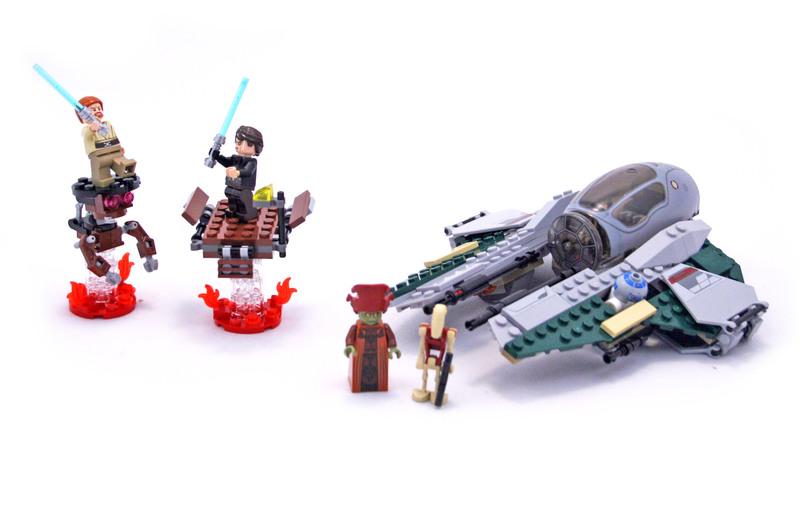 Anakin's Jedi Interceptor - LEGO set #9494-1