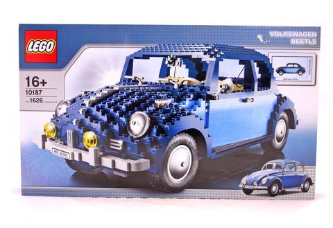 Volkswagen Beetle - LEGO set #10187-1 (NISB)