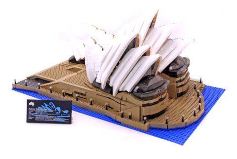 Sydney Opera House - LEGO set #10234-1