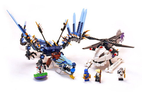 Lightning Dragon Battle - LEGO set #2521-1