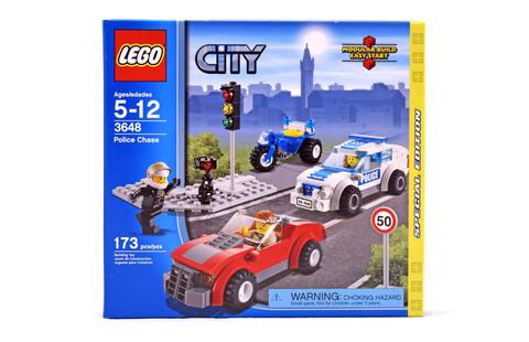 Police Chase - LEGO set #3648-1 (NISB)
