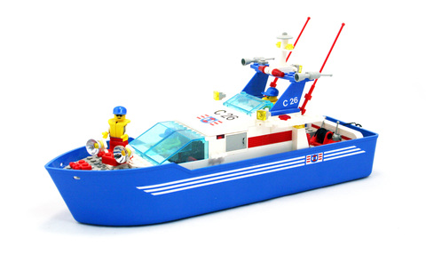 C26 Sea Cutter - LEGO set #4022-1