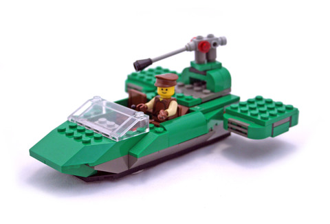 Flash Speeder - LEGO set #7124-1