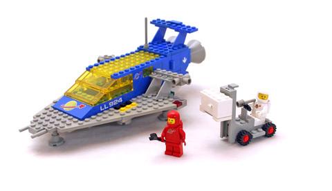 Space Cruiser - LEGO set #487-1