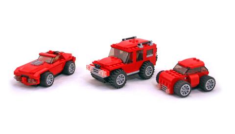 Gear Grinders - LEGO set #4883-1