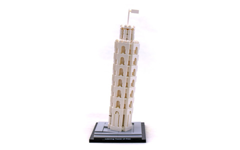 The Leaning Tower of Pisa - LEGO set #21015-1