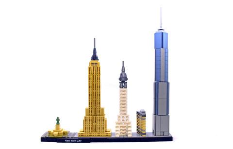 New York City - LEGO set #21028-1