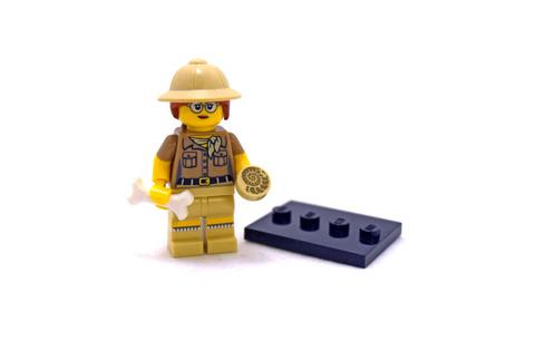 Paleontologist - LEGO set #71008-6