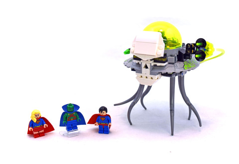 Brainiac Attack - LEGO set #76040-1