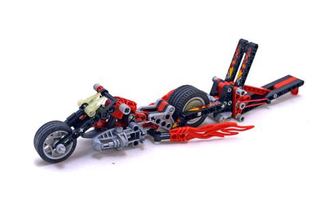 Muscle Slammer Bike - LEGO set #8645-1