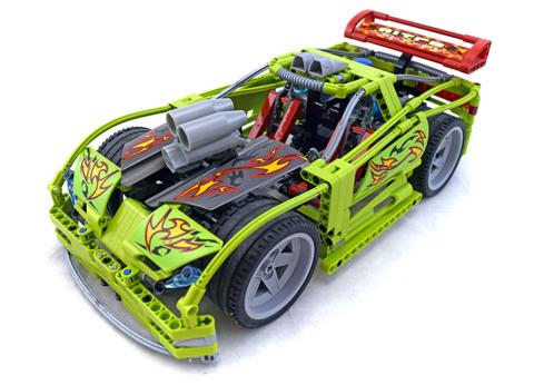 Nitro Menace - LEGO set #8649-1