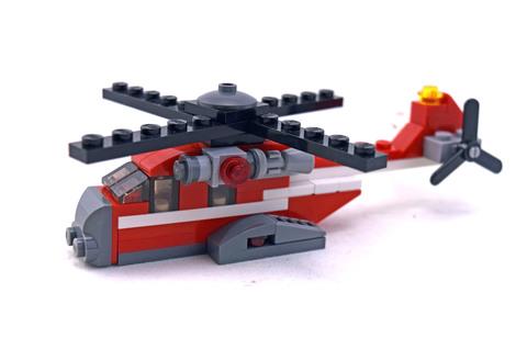 Red Thunder - LEGO set #31013-1