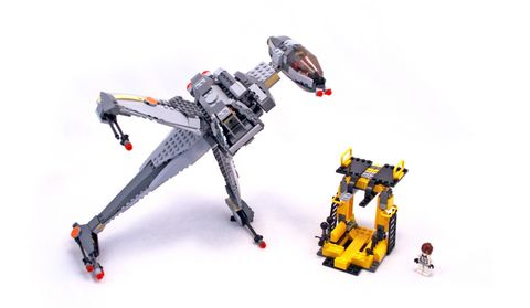 B-wing Fighter - LEGO set #6208-1